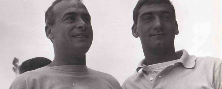 Da sin. Pino Antonelli e Giancarlo Guerrini